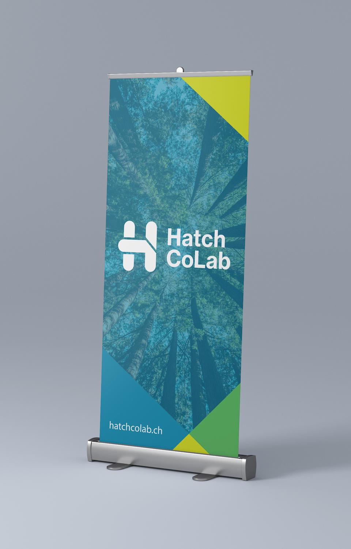 Kakémono Coloré Hatch Colab